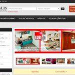 создание сайта для Магазин мебели Winglis