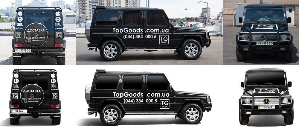 Постпродакшн для сайта TopGoods