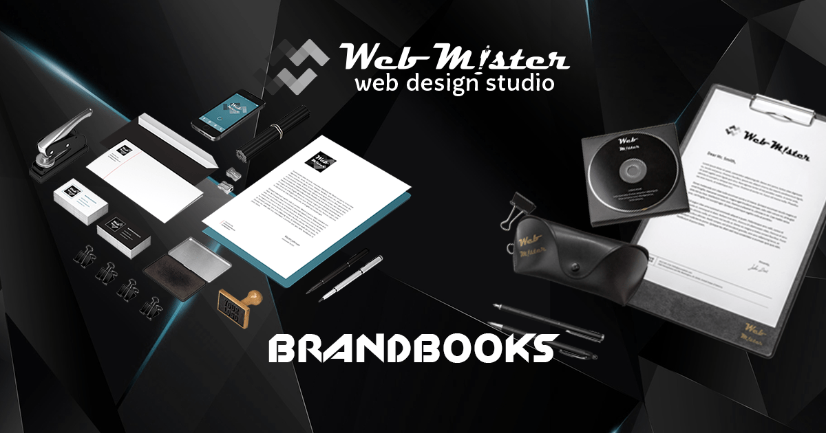 WEBMISTER - BRAND BOOKS