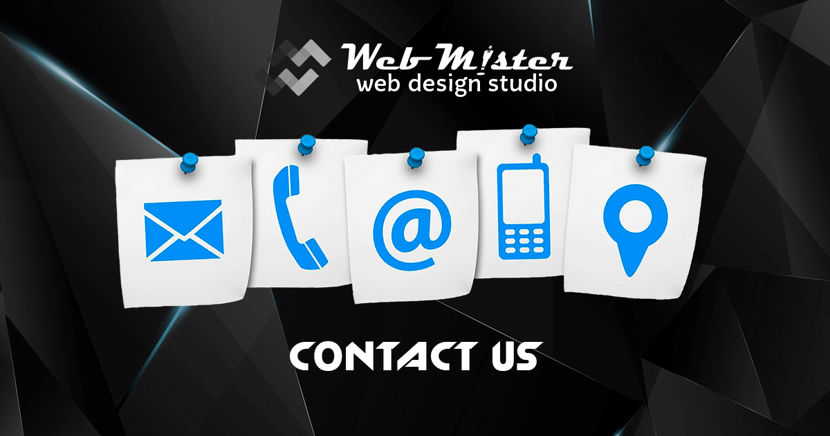 WEBMISTER - CONTACTS
